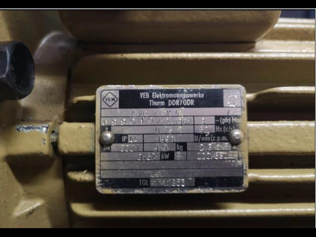 Вакуумный насос 2DSE 4/1 Германия MLW - 2