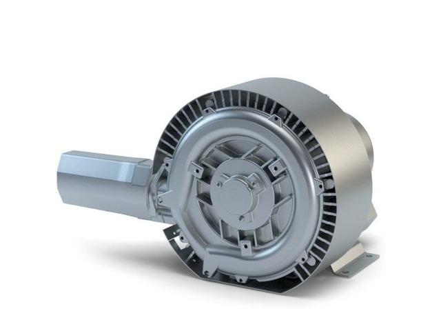 Вихревая воздуходувка 4 кВт (210м3/час, 410мбар) - 2