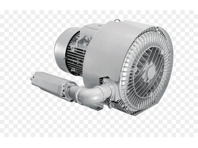 Вихревая воздуходувка 4 кВт (210м3/час, 410мбар) - 3