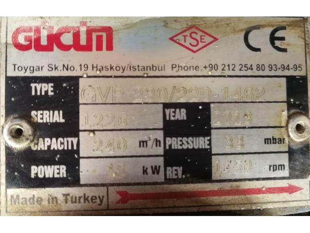 Вакуумный насос GVP 230/220-1462 Турция - 5