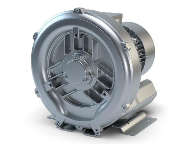 Вихревая воздуходувка 0,8 кВт (180м3/час, 110мбар) - 2